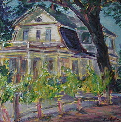 Painting - Gorge White House by Quin Sweetman