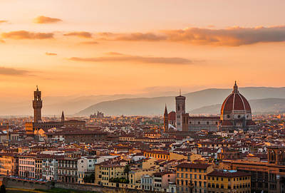 Photograph - Gorgeous Florence City by Gurgen Bakhshetsyan