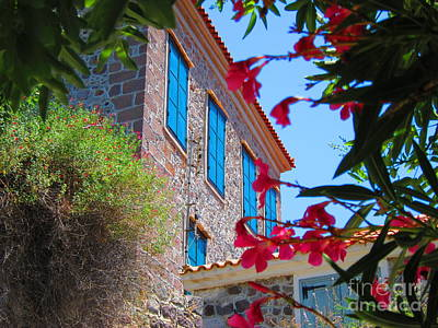 Molyvos Photograph - Gorgeous Island Residence by Andreas Thust