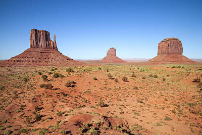 Crumble Photograph - Gorgeous Monument Valley by Melanie Viola