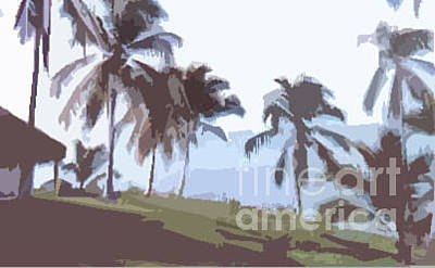 Digital Art - Gorgona Panama by Jennifer E Doll