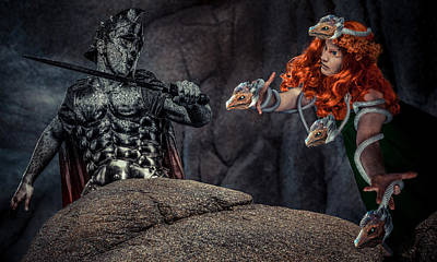 Gorgon Digital Art - Gorgon's Revenge by Randy Turnbow