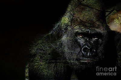 Gorilla Art Print by Marvin Blaine