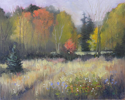 Painting - Gorman Prairie by Judy Fischer Walton