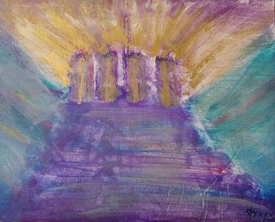 Gospel Pillars Art Print