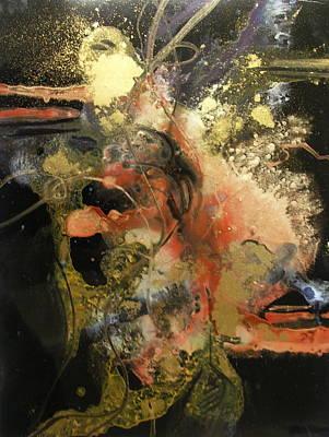 Curvilinear Painting - Gossamer by Patricia Mayhew Hamm