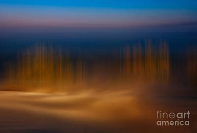 Photograph - Gossamer Sands - A Tranquil Moments Landscape by Dan Carmichael