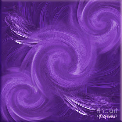 Listening Digital Art - Gossip Has Wings - Abstract Art By Giada Rossi by Giada Rossi