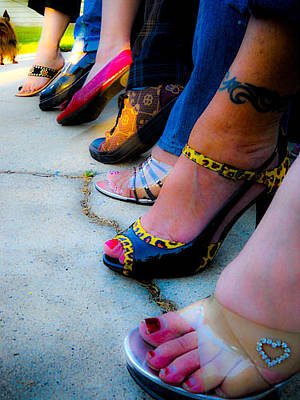 Photograph - Got Shoes by Kristen R Kennedy