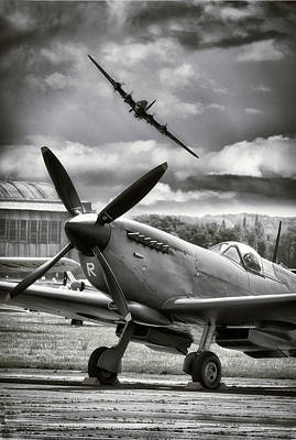 Bomber Command Photograph - Got Your Back by Jason Green