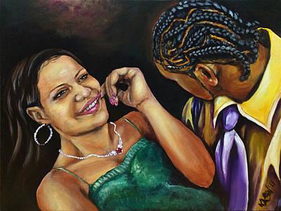 Painting - Gotcha by Ka-Son Reeves