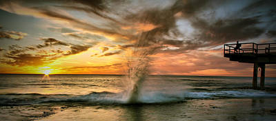Water Filter Photograph - Gotcha by Kym Clarke