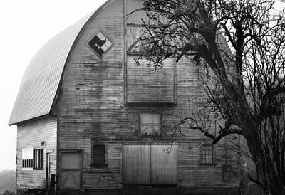 Photograph - Goth Barn by Sonya Lang
