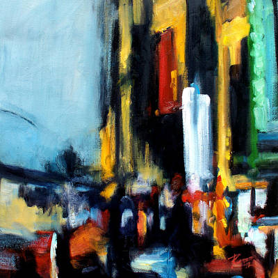 Painting - Gotham 3 by Robert Reeves