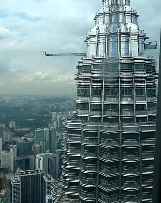 Photograph - The Petronas Towers  by Lisa Piper