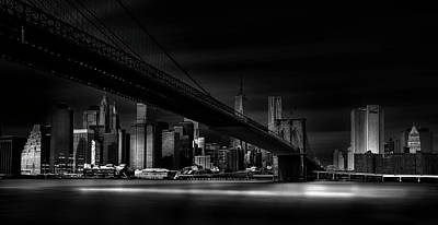 Bridge Photograph - Gotham City. by Peter Futo