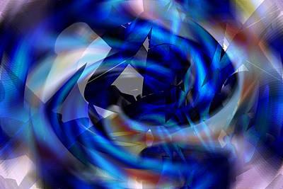 Digital Art - Gotham Nebulae - Batman by rd Erickson