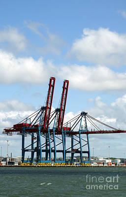 Photograph - Gothenburg Harbour 08 by Antony McAulay