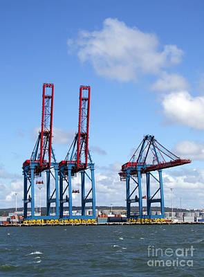 Photograph - Gothenburg Harbour 12 by Antony McAulay