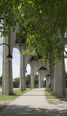 Photograph - Gothic Arches Supporting The Waccamaw Bridge by MM Anderson