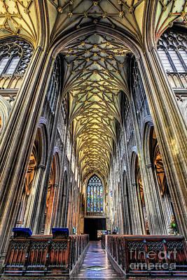 Gothic Architecture Art Print