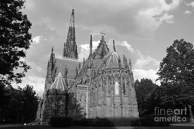 Photograph - Gothic Church In Black And White by John Telfer