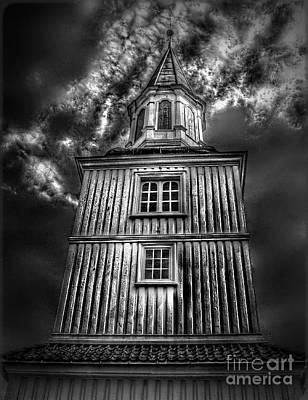 Scary Digital Art - Gothic Doomsday.. by Nina Stavlund
