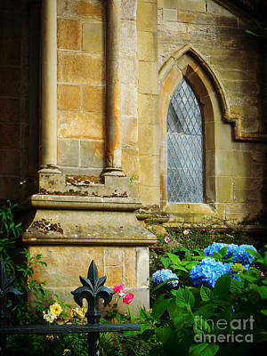 Photograph - Gothic Garden by Valerie Reeves