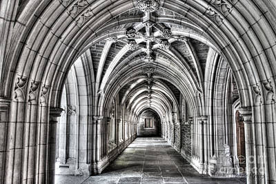 Mercer Tile Photograph - Gothic Hall by Louise Reeves