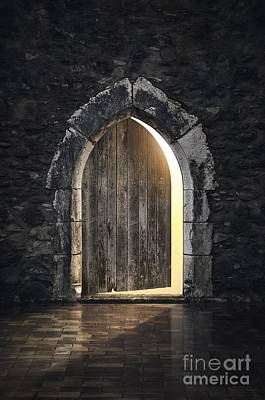 Medieval Entrance Photograph - Gothic Light by Carlos Caetano