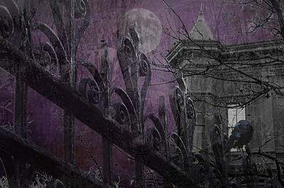 Gothic Moonlight Art Print