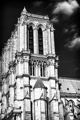 Photograph - Gothic Notre Dame by John Rizzuto