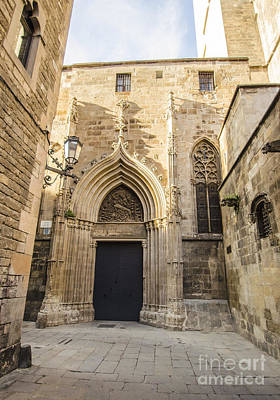 Photograph - Gothic Quarter Corner by Deborah Smolinske