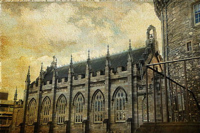 Photograph - Gothic Revival Chapel. Dublin Castle. Streets Of Dublin. Gothic Collection by Jenny Rainbow