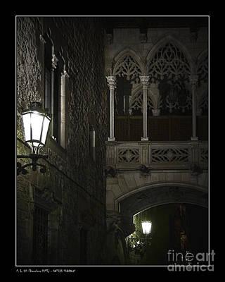 Gothic Shadows Art Print by Pedro L Gili