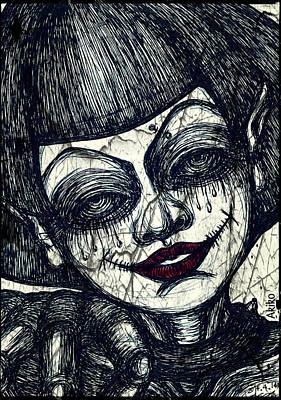 Gothic Smile Art Print