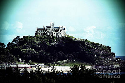 Photograph - Gothic St Michael's Mount Cornwall by Terri Waters