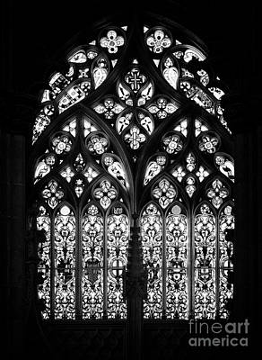 Stain Glass Photograph - Gothic Stain-glass Window by Jose Elias - Sofia Pereira
