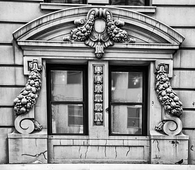 Nyc Digital Art - Gothic Style Window - Nyc by Bill Cannon