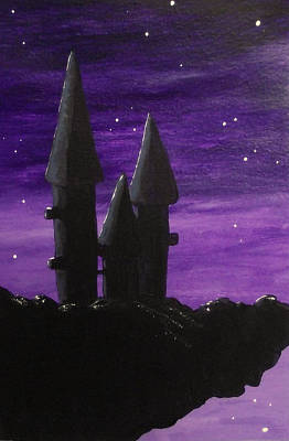 Painting - Gothic Towers by Sandy Wager