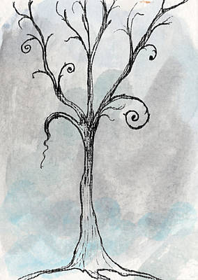 Emo Digital Art - Gothic Tree by Jacquie Gouveia