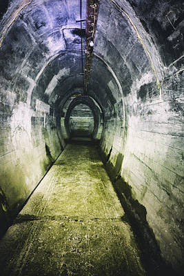 Gothic Tunnel Art Print by Russ Dixon