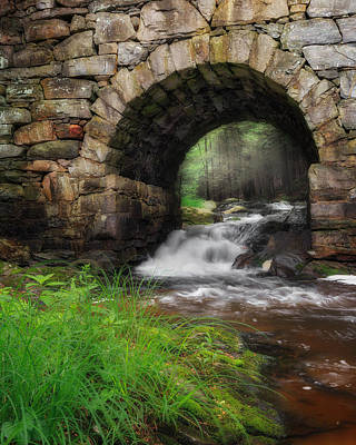 Gothic Bridge Photograph - Gothic Waters by Bill Wakeley
