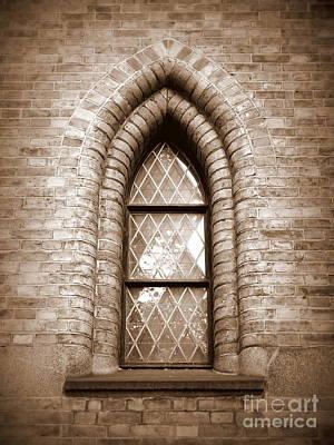 Photograph - Gothic Window by Carol Groenen