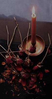 Photograph - Gothic Witch's Spell by Barbara St Jean