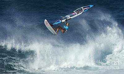Laird Hamilton Photograph - Gotta Love It In Maui by Bob Christopher