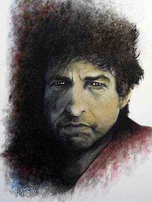 Gotta Serve Somebody - Dylan Art Print by William Walts