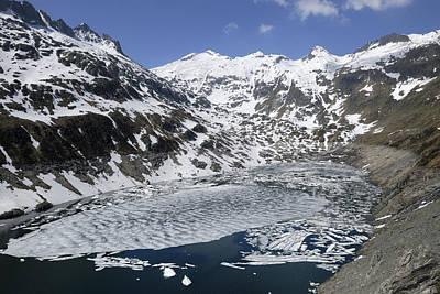 Gotthard Pass Swiss Alps Art Print by Thomas Marent