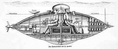 Goubet Submarine Art Print by Bildagentur-online/tschanz
