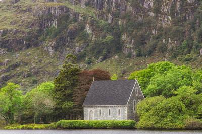 Gougane Barra Church Photograph - Gougane Barra by Phillip Cullinane